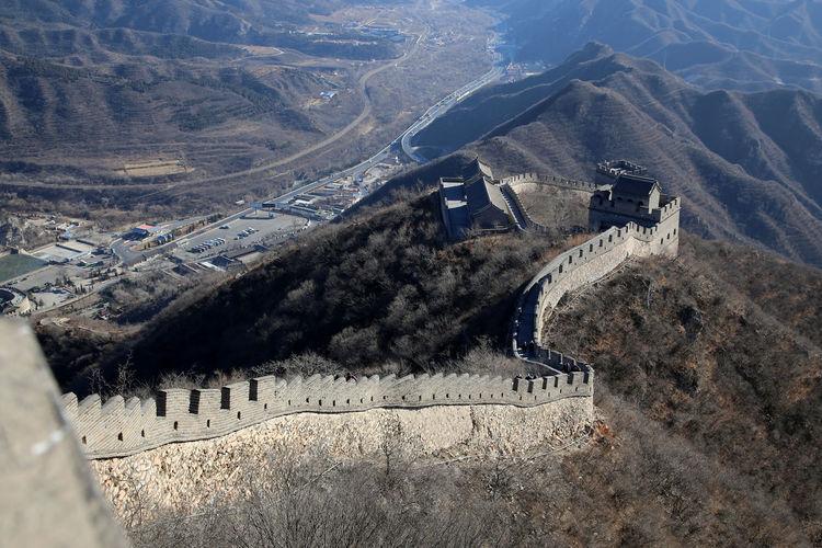 Chinese Architecture Chinese Wall Great Wall Of China Great Wall Of China Tower China Photos Chinesische Mauer Beijing Beijing, China Peking