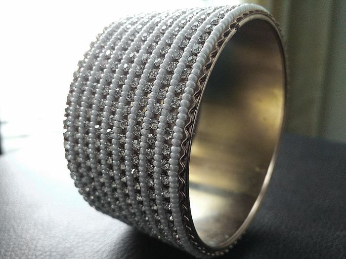 fashion Jewelry Close-up Bracelet Diamond - Gemstone Pearl Pearls
