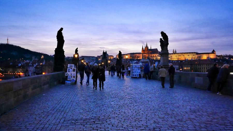 MagicPrague Prague Charles Bridge Prague At Night
