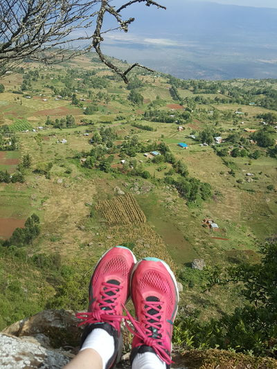 Alp Village Beautiful Village Cute Town Lovely Landscape View From Mountain Montain  Mountain Top Chilling Peace Peaceful Peaceful Place Peaceful View Valley View Valley Kenya Iten Kerio Kerio Valley Cliff Rock - Object Adventure Travel Showcase: December Travel Destinations Lifestyle