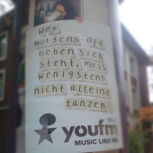 #Spruch #Plakat