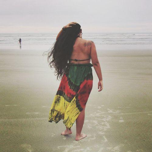 💚💛❤ Longhair Tumblr Beach Adult Full Length Only Women People Sea Beauty