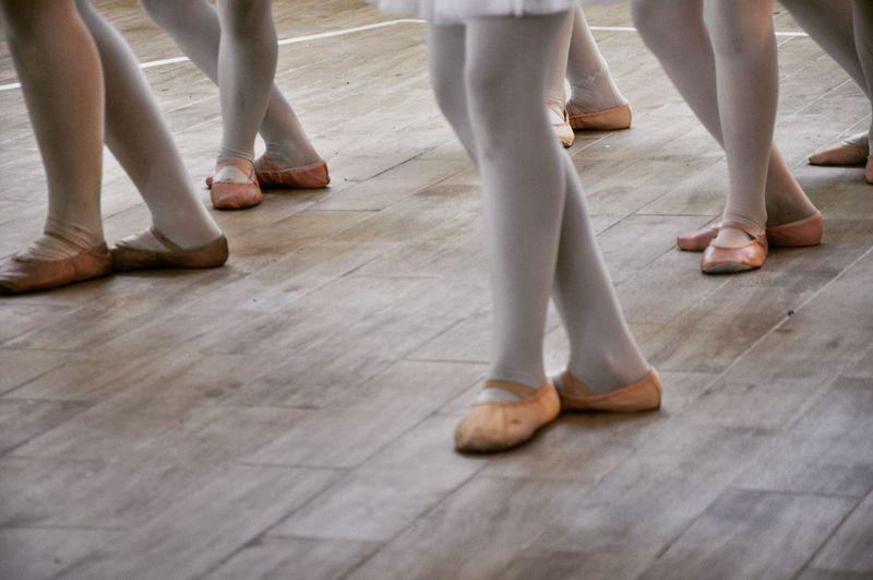 Ballett Balerina Girls Show Parket Pink Millennial Pink