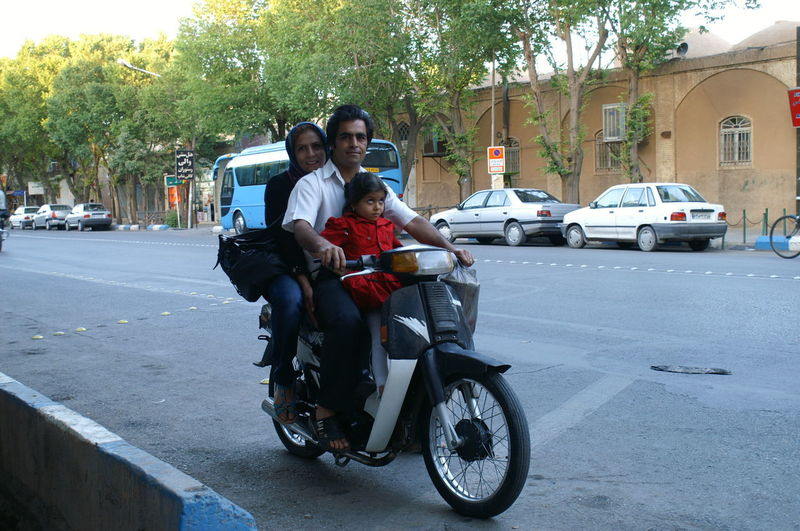 Streetwise Photography Teheran, Iran Motor Vehicle Transportation Real People City Road People Couple - Relationship