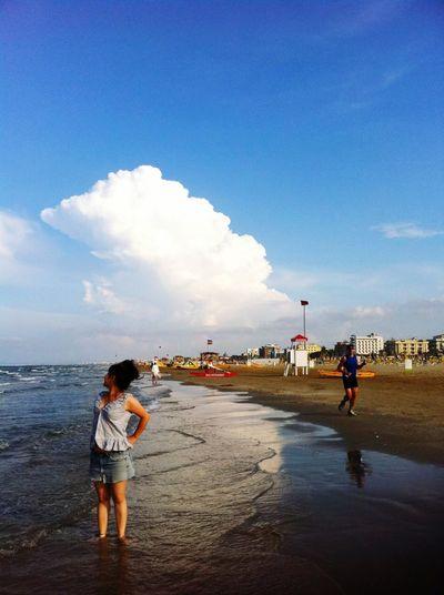 Beauty Redefined Italy Italia Italian Rimini Riminibeach👍😎 Sanmarino Beach Bar Morning