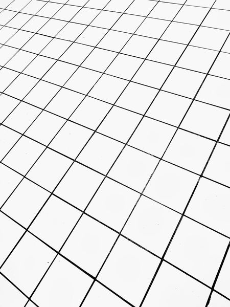 Floor tiles abstract . Floor Flooring Floor Tiles Background Texture Textured  Pattern Tiled Floor Full Frame Abstract Perspective Black And White Squares Squares And Lines Lines Tile Faience