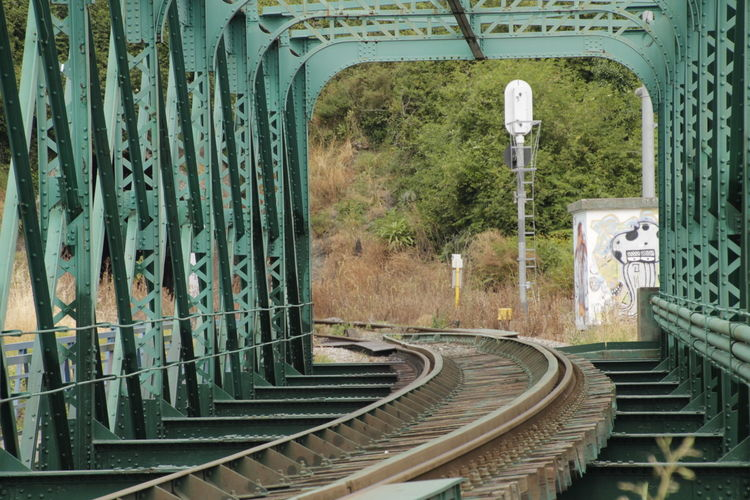 Railway Rail Railroad Bridge Green Railroad Track Train Trainphotography Train Rail Train Bridge Trains & Railroad