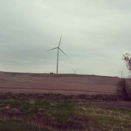 Renewables I'm the heartland. Windpower DonQuixote