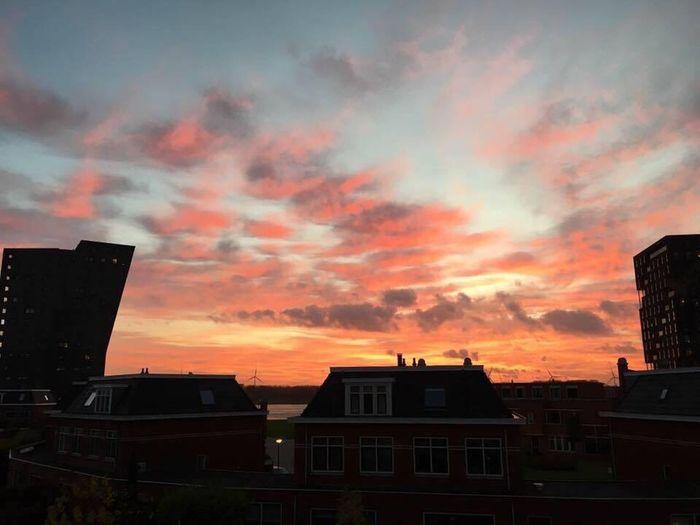 Prachtige lucht boven nieuwe Waterweg First Eyeem Photo