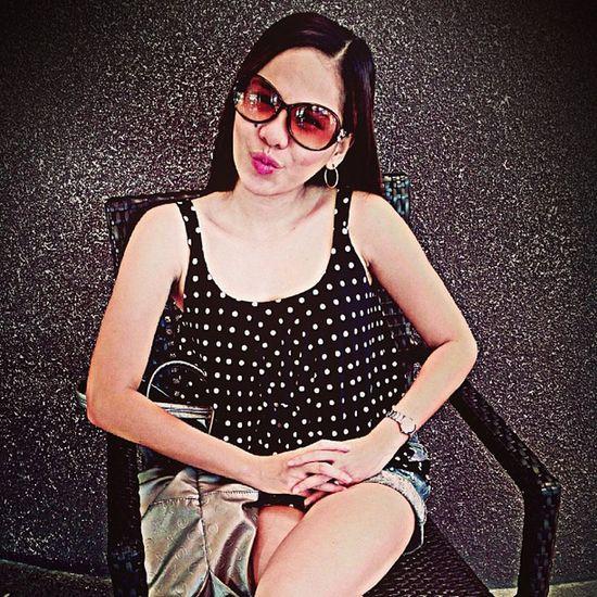 Summer Tagsforlikes Sunnies Igers igerscebu igersiloilo photofortheday fashion polka instahub instapic