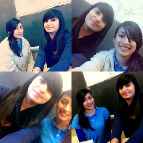 With Jackyy In Class :)