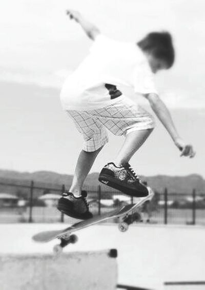 I'm Skating In Skatenoarding Park ➿