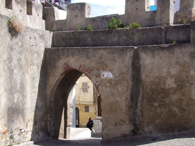 Thick Kasbah Walls & Entrance Arch Architecture Building Exterior Built Structure Castle Walls Composition Famous Place Famous Places Full Frame Historical Building Historical Place Incidental People Kasbah Morocco Morrocan Architecture Morrocan Style No People Old City Outdoor Photography Sunlight And Shade Tangier Tangier City Thick Walls Tourist Attraction  Tourist Destination