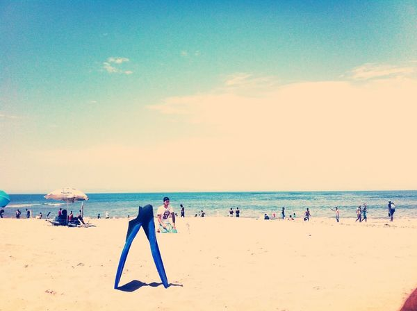 Beach Swimming Photo Havin Fun