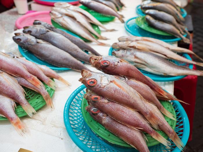Freshness Jagalchi Korea Market Seafood Animal Basket Basket Full Basket Full Of Fishes Busan Close-up Fish Fish Market Fishes Food For Sale Fresh Freshness Jagalchi Market Local Market Market No People Raw Food Still Life Wet Market