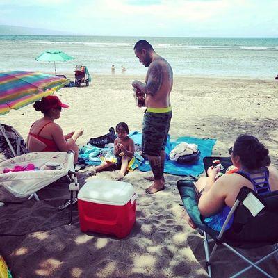 Beach day! FamilyTimes Beachday GoodVibez  SayItWitYaChest AigaOverEverthing