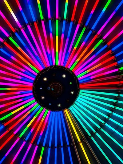 colorful neon light Neon Multi Colored Illuminated Spectrum Fanned Out Pattern Colorful Close-up Carnival Disco Lights Disco Ball Dance Floor Clubbing Nightclub Party Projection Laser Disco Dancing Horn Sign Venetian Mask Festival Decorative Art Colored Pencil Ribbon Concentric Full Frame Rainbow Foldable Mask