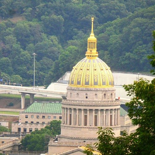 Westvirginia Capitol Goldendome Igers_of_wv wv_igers wv_nature gotowv westvirginia ipulledoverforthis aj_ladies jj_unitedstates icu_usa ig_captures ig_addicts_fresh photowall_daily best_photogram all_my_own insta_america all_my_own landscape_captures scenic