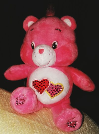Care Bears Teddy Teddy Bear Pink Color Hearts Crystal Love Red Close-up Studio Shot Pink Color Human Body Part Pain Indoors  People