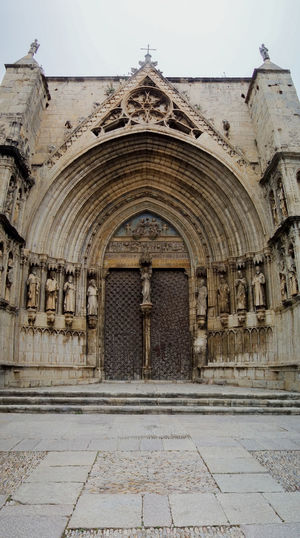 Arch Architecture Building Exterior Built Structure Castellón Day Façade Landscape Maestrat Maestrazgo Morella No People Outdoors Place Of Worship Religion SPAIN Spirituality