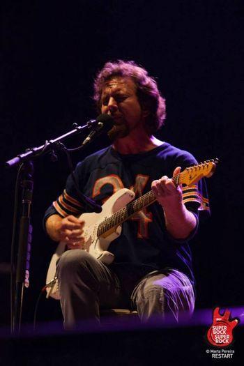 Eddievedder Eddie Vedder SuperBockSuperRock Musicphotography Imagenscommúsica Musicphotographer Concerts Rock Ilovethisjob