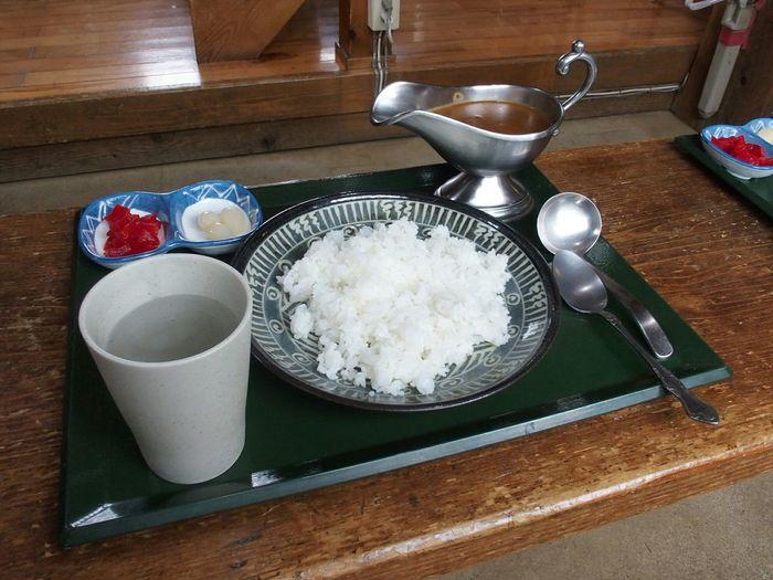 山奥で食す♪みやま山荘のカレーライスo(^o^)o Yammy  MyFoodPics Curry ~カメログまたここで~ Eyemf Japan Photography Snapshot