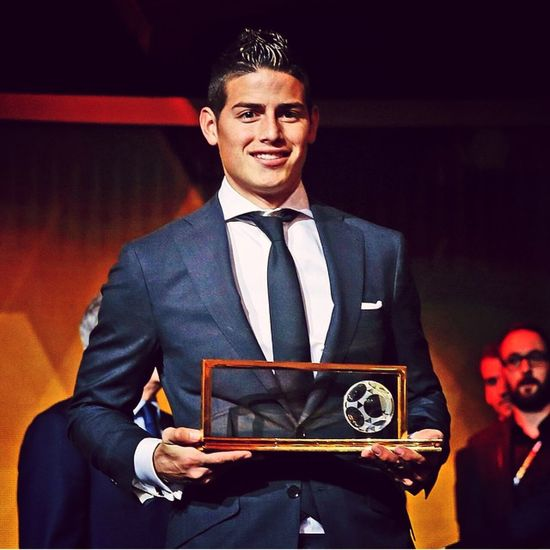 Puskas Award 2014 Winner. Jamesrodriguez