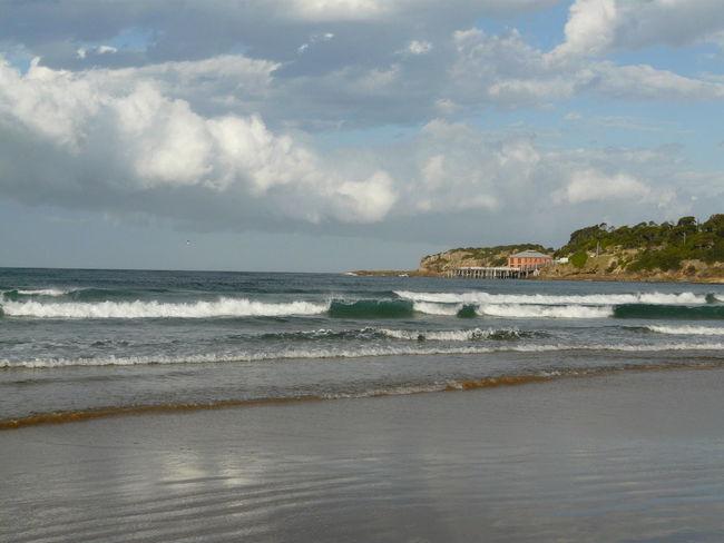 Beach Photography Clouds And Sky Coastal Life Coastline South Coast Australia Tathra Tathra Wharf Tathrabeach The Great Outdoors - 2016 EyeEm Awards