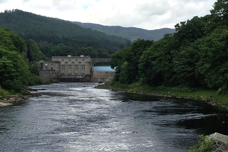 Dam Powerstation River River View Riverside Scottish Highlands Scotland Enjoying The View Architecture Nature Water