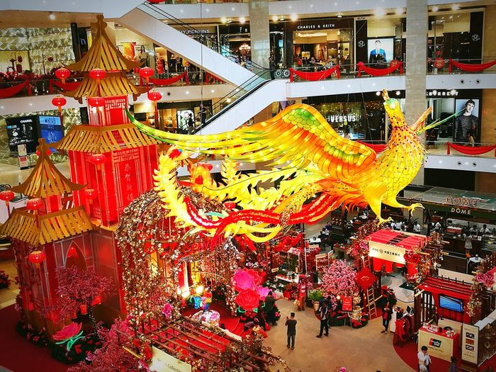 Cultures Chinese New Year Celebration Chinese Dragon No People Indoors  Annual Event Day rooster