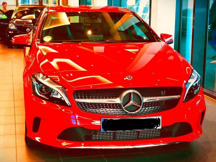 Neu. # A A-klasse Mercedes-Benz Car Red