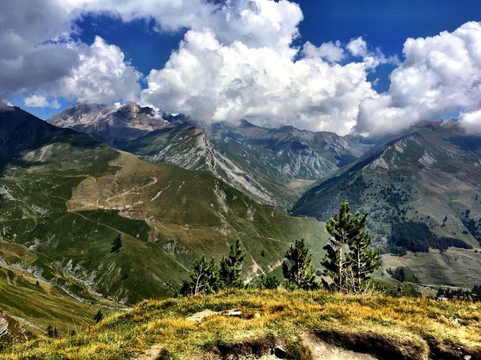 Italy Cuneo Valli Cuneesi Mountains Taking Photos Enjoying Life Pinetrees🌲 Clouds