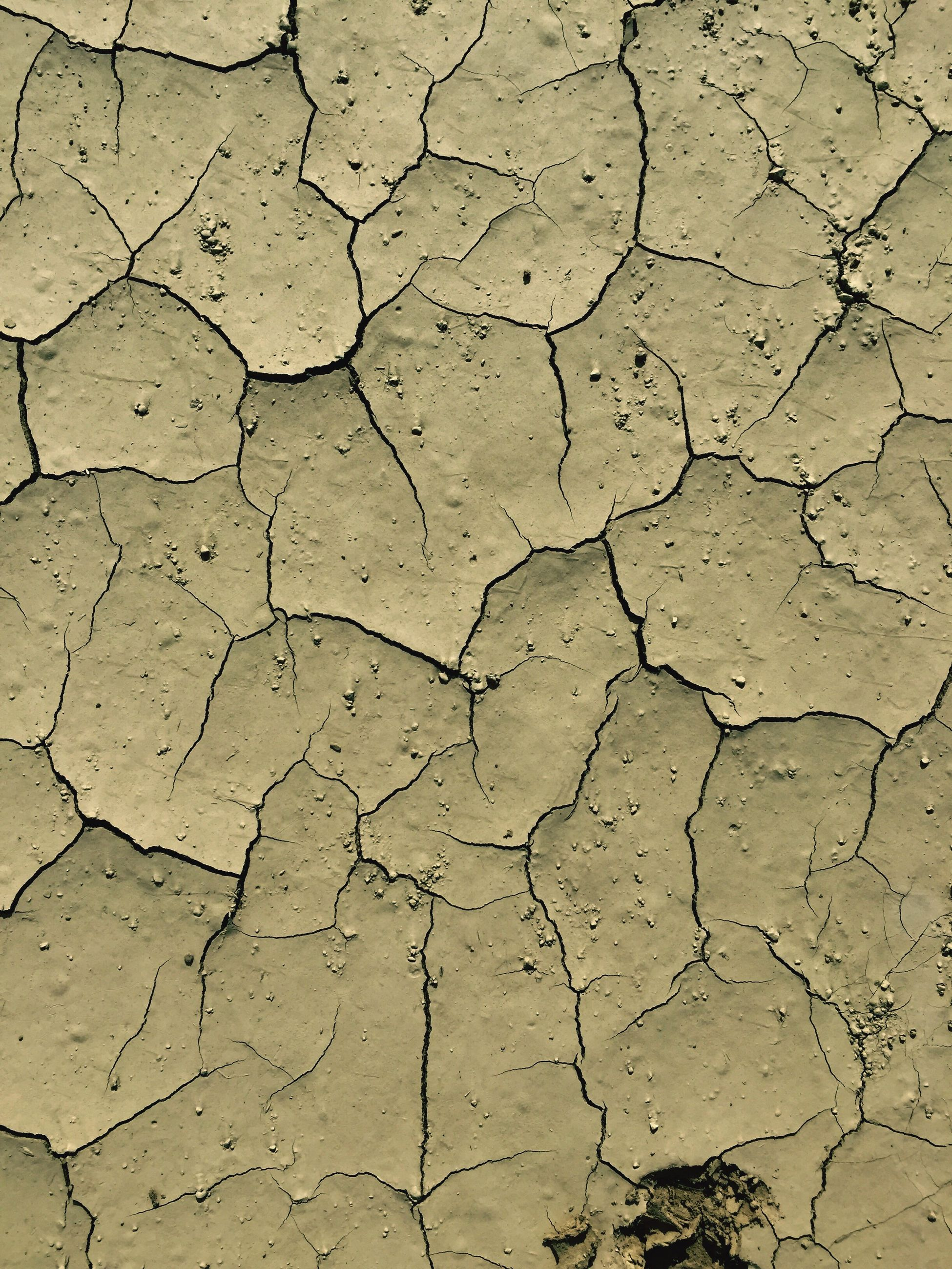 full frame, backgrounds, pattern, cracked, no people, textured, nature, arid climate, close-up, outdoors, day