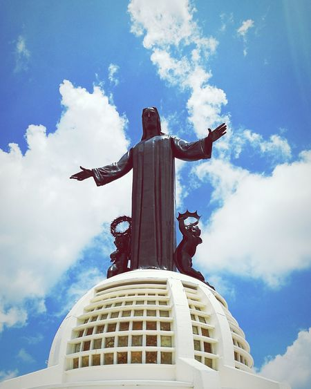 Statue Cloud - Sky Sky Travel Destinations Cristo Rey Guanajuato, México Cerrodelcubilete Sanctuary