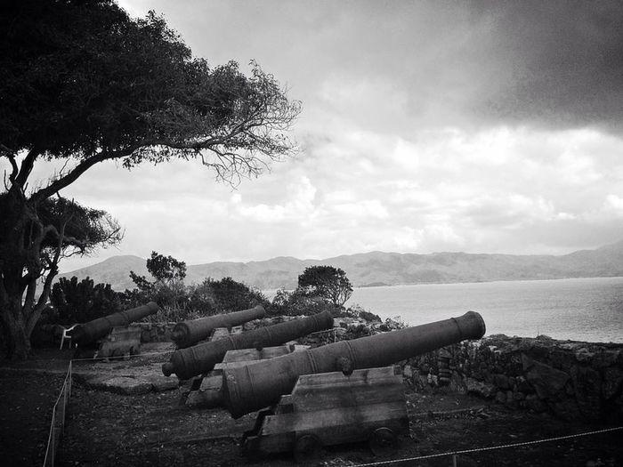 Praiadoforte Florianópolis forte Canhoes War Trip Photo