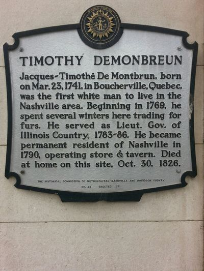 Timothy Demonbruen Nashville First Citizen