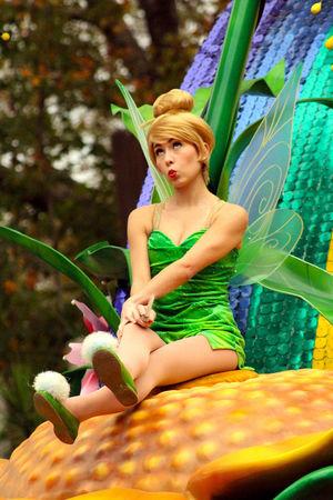 Tinkerbell Disney DisneyWorld Festival Of Fantasy Parade
