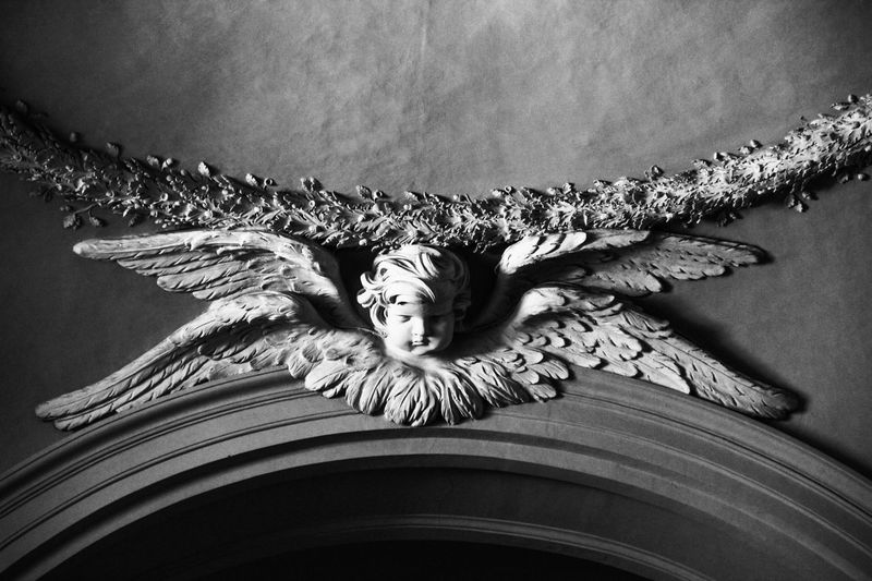 Close-Up Of Decoration Over Sculpture