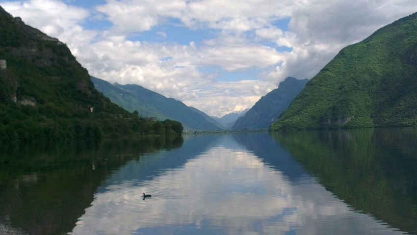 Idro Lake Landscap Lago D'Idro Landscape On The Road Born To Be Wild