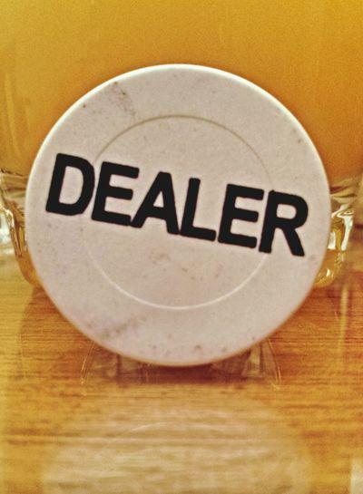 Poker time :) Poker Close Up Dealer