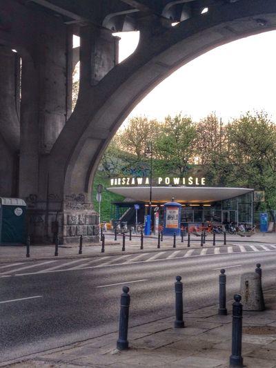 Powiśle Warsaw Powisle Street Photography Bridge