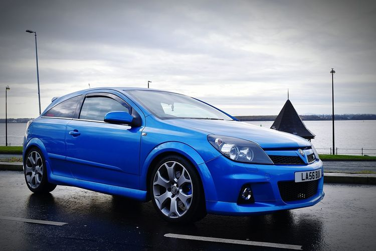Car Transportation Blue Old-fashioned Cloud - Sky Sky No People Outdoors Day Land Vehicle Close-up Astra VXR Transportation
