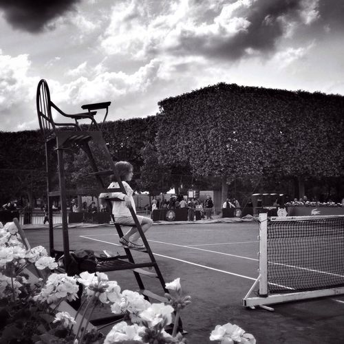 Good Morning, bonjour... EyeEm Best Shots ROLAND GARROS EE_Daily: Black And White EyeEm Bnw