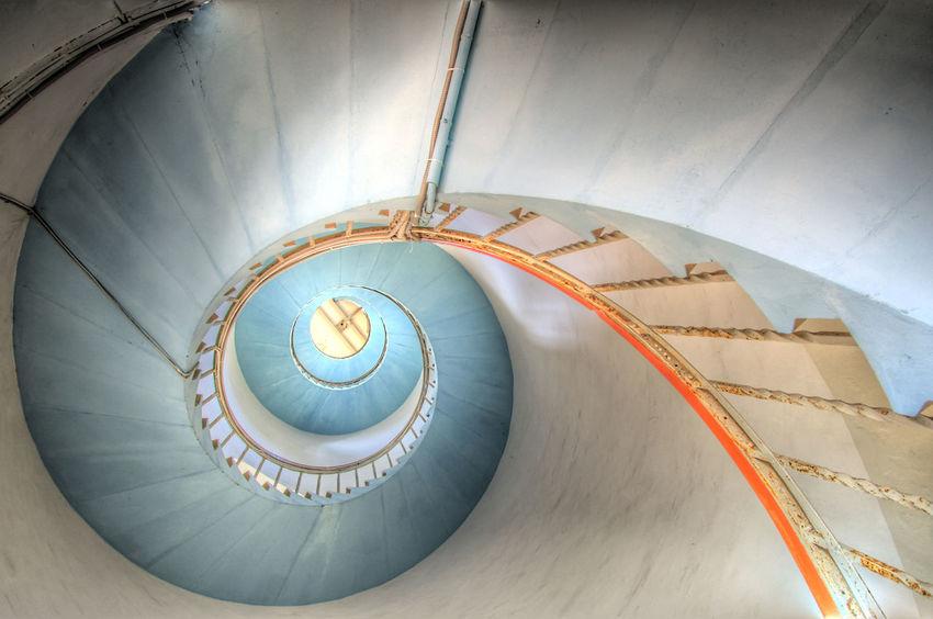 A Nørre Lyngvig Architecture Dansk Dänemark Leuchtturm Lighthouse Ringkøbing Ringkøbing Fjord Stairs Stairway Stairways Treppe Treppen Treppenhaus HDR HDRphoto Hdr Edit