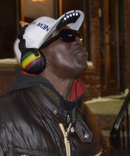 Casual Clothing Front View Lifestyles Music Night Night Lights Person Perspective Real People Street People Street Performer Streetphotography Syracuse  Syracuse Ny