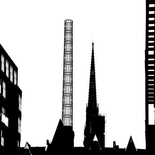 Modern architecture in Hafen City Hamburg Architecture Building Building Exterior Built Structure Capital Cities  City Development Famous Place International Landmark Light Low Angle View Modern Office Building Outdoors Religion Silhouette Skyscraper Spirituality Tall Tall - High Tower