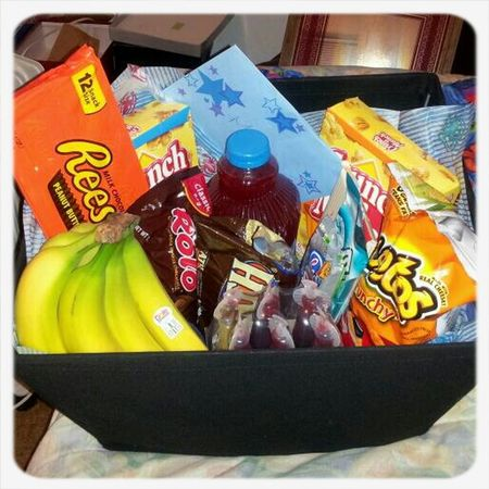 Bday goodie basket i put together for my dad....he loved it