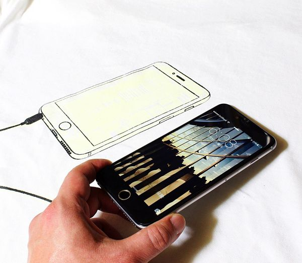 Precision Tshirt Designer IPhone Iphone6plus Luminous Light And Shadow Darkness And Light