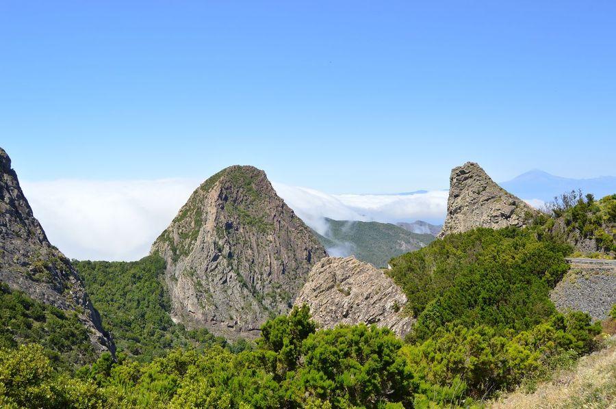 La Gomera La Gomera, Canary Islands LaGomera Picoftheday EyeEmNewHere EyeEm Best Shots Eye4photography  EyeEm Selects Mountain Mountain Peak Rock - Object Sky Mountain Range Volcanic Landscape Volcano Volcanic Activity