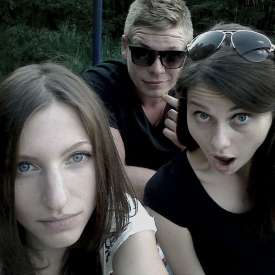 Meeting Friends Nice Day Good Mood :)